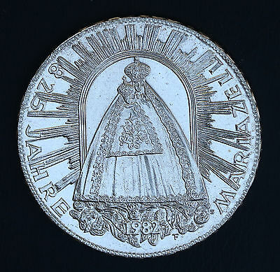 1982 Austria 500 Schilling KM# 2958 Silver Special UNC PL Coin Mariazell Shrine