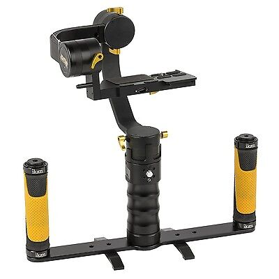 Ikan DS1-DGH-KIT Kit with DS1 Beholder Gimbal & Dual Grip Handle for DSLRs & ...