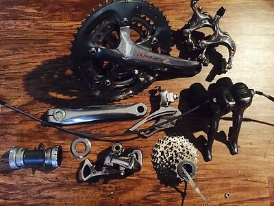 Dura Ace 7800/7803 Triple Excellent 3x10 170mm 10 Speed Great Groupset