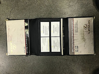 2001 Lexus RX300 Owners Manual Set, used