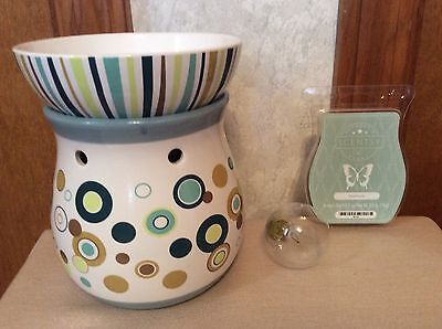 Discontinued Scentsy Warmer SHABBY CHIC - RARE!!