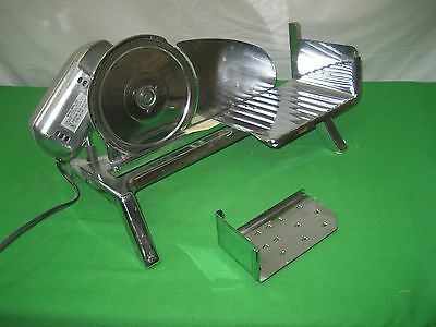 Vintage Rival 1101E-5 Chrome Kitchen Meat Cheese Electric Food Slicer