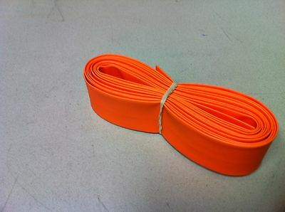 "3/4"" ID / 20mm ThermOsleeve ORANGE Polyolefin 2:1 Heat Shrink - 10' section"