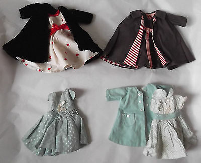 Lot of 4 Outfits for Little Miss Revlon & Clone Dolls Handmade Factory Made