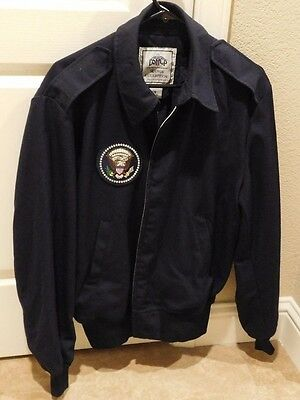 Authentic Presidential Seal Air Force One Issue Crew / Presentation Jacket