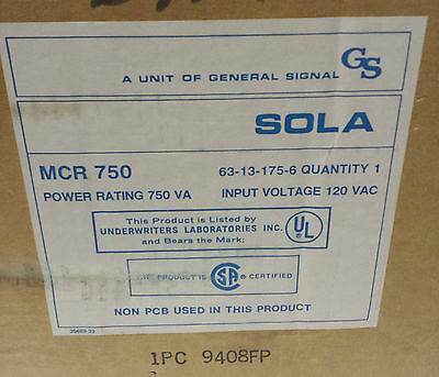Sola HD MCR 750 Mini Micro Computer Regulator