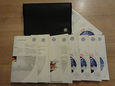 Volkswagen Polo Owners Handbook/Manual and Wallet 94-98