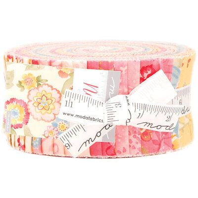 Quilting Fabric Jelly Roll - Moda - Nanette