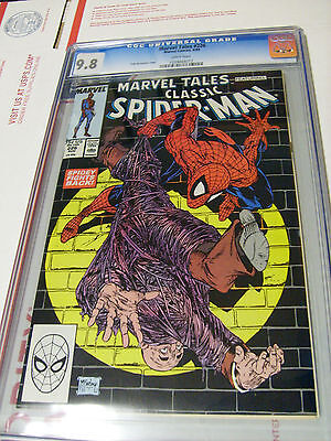 CGC 9.8 Marvel Tales 226 Classic MCFARLANE Spiderman Cover WHITE PAGES