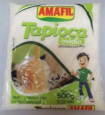 Amafil Tapioca Media  500g - Cassava starch for cakes and pudins gluten free