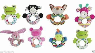 Maison Chic Baby Girl And Baby Boy Ring Rattle Toy – Various Designs