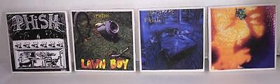 Phish Album Cover Coasters Set of 4 Rift,Lawn Boy,Junta,Picture of Nectar