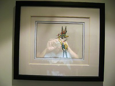 Bugs Bunny Warner Brothers Production Animation Cel 1960s Professionally Framed