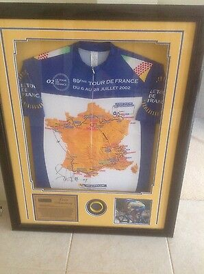 Signed Lance Armstrong Jersey