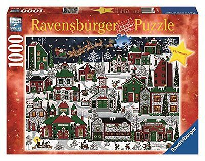 Ravensburger Americana Christmas - 1000 Piece Christmas Puzzle - NEW