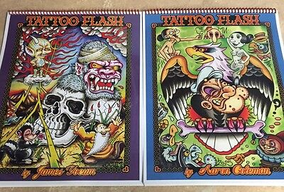 Tattoo Flash Book By Aaron Coleman And James Yocum
