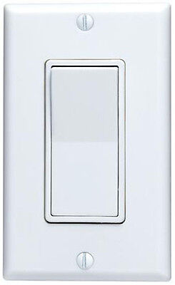Decora Switch White Single Pole, 3-Way