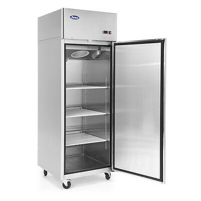 NEW Atosa Top Mount (1) One Door Commercial Refrigerator Stainless Steel NSF