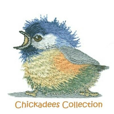 Chickadees Collection - Machine Embroidery Designs On Cd