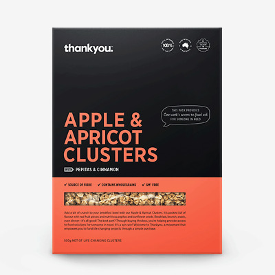 Thankyou Clusters - Apple & Apricot
