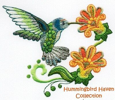 Hummingbird Haven Collection - Machine Embroidery Designs On Cd