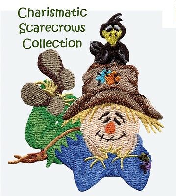 Charismatic Scarecrows Collection - Machine Embroidery Designs On Cd