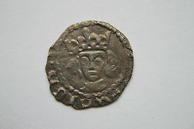English Edward 1V Silver Penny Coin Part Of A Recorded Thames 1980 Coin Hoard