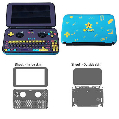 Skin Decal Sticker For GPD Win Console All Side Tuning Mapping POPSKIN Game Ver.