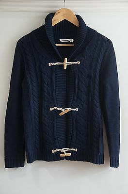 Country Road Kids Toggle Sweater, Bnwot, Navy, Size 12, Cotton, Perfect Cond!
