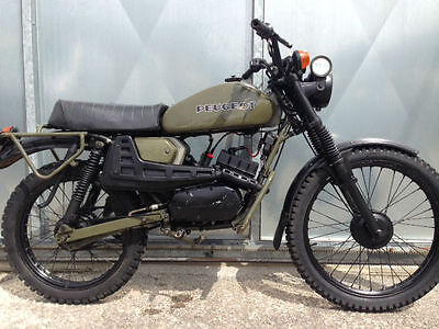 PEUGEOT 80cc SX8 AR FRENCH ARMY TRIALS TRAIL BIKE VERY RARE £1995 OFFERS PX