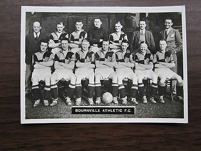 Bournville Athletic FC Ardath Photocards Group E 1937
