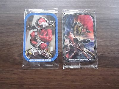 Two Different Spiderman 2 3D Holographic Cards