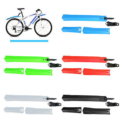 Front Rear Tire Fenders 24 26'' Mountain Road Bike Bicycle Mudguard Equipment AU