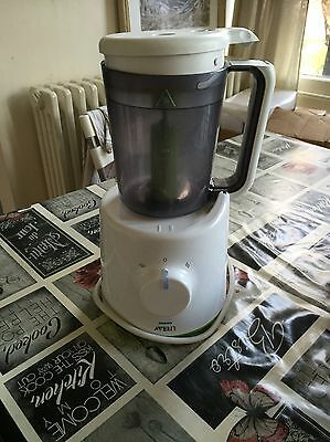 Phillips Avent Combined Baby Food Steamer And Blender