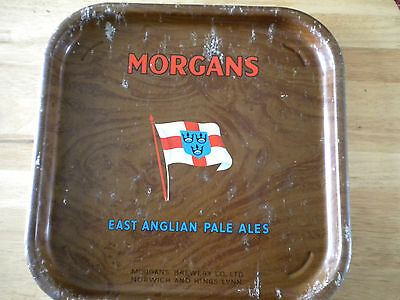 Morgans Brewery serving tray