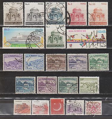 Pakistan - 22 Different Stamps