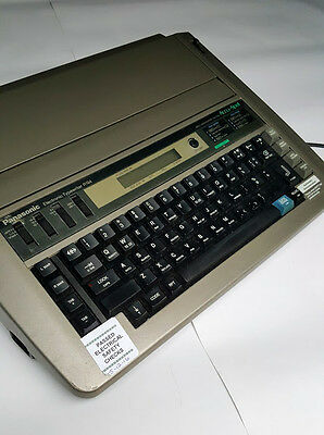 Panasonic KX-R194 Electronic Typewriter in Case. Features Accu-Spell