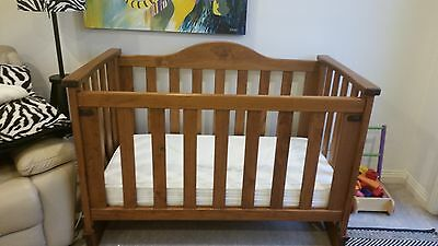 Beautiful Solid Timber Cot