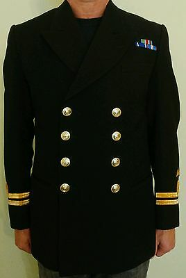 Royal Navy officer's jacket - rare example with 'Para Wings'