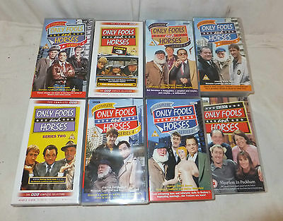 Job Lot ONLY FOOLS AND HORSES Box Set SERIES 1-7 + Special NEW Sealed BBC Comedy