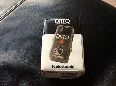 Superb 'Ditto' Looper Effects Pedal.