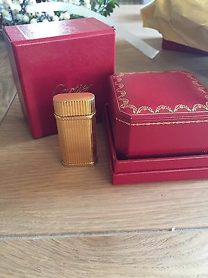 Genuine Gold Plated Cartier Lighter