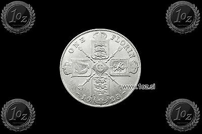 UNITED KINGDOM (GB) ENGLAND 1 FLORIN 1923 (GEORGE V) SILVER Coin (KM# 817a) F-VF