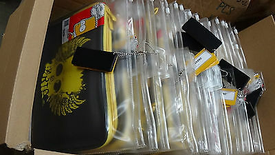 "15 Netbook/iPad/Tablet/Sleeve/Pouch Cases Simpsons Black 10.2"" JOB LOT WHOLESALE"