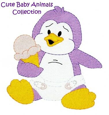 Cute Baby Animals Collection- Machine Embroidery Designs On Cd