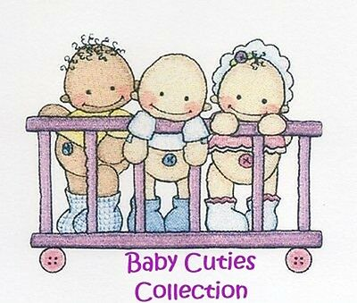 Baby Cuties Collection - Machine Embroidery Designs On Cd