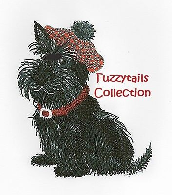 Fuzzytails Collection - Machine Embroidery Designs On Cd