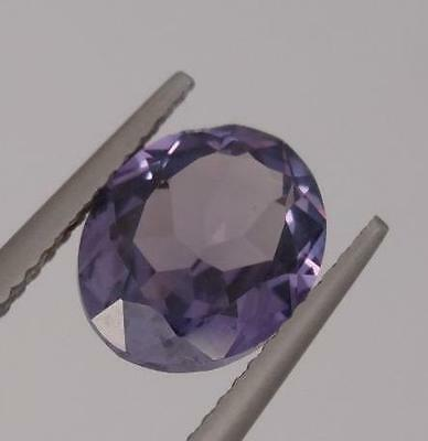 *3Ct Loose Synthetic Alexandrite Oval Cut Gemstone*