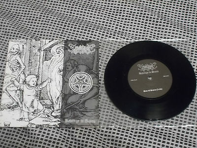 "FROSTMOON ECLIPSE Revenge In Scorn RARE 7"" Ltd 300 copies! BLACK METAL"