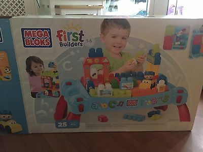Mega Blocks 3in 1 Learn And Play